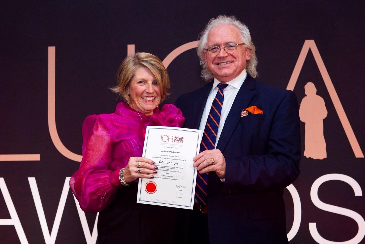 ICB-LUCA-Awards-Julie-Austen-Companion-of-Honour