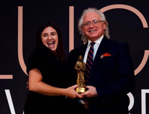 Team BIB at the LUCA Awards 2019